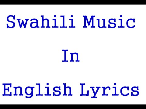 Diamond Platnum Mbagala Swahili To English Lyrics video
