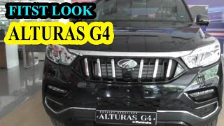 CARWORLD: ALTURAS G4, Mahindra SUV car price, features, specifications