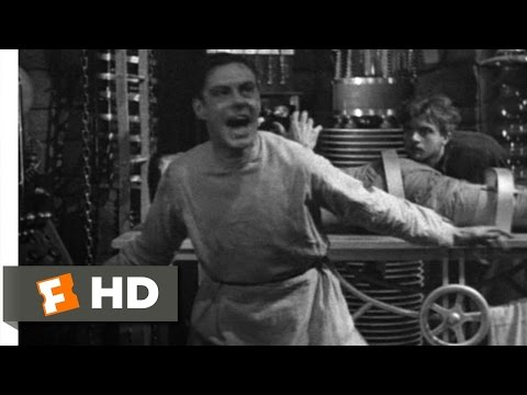 Frankenstein movie clips: http://j.mp/1JdDF7G BUY THE MOVIE: http://amzn.to/rTiivc Don't miss the HOTTEST NEW TRAILERS: http://bit.ly/1u2y6pr CLIP DESCRIPTION: As the Monster (Boris Karloff)...