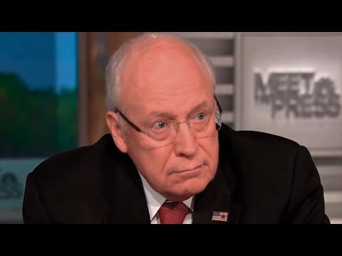 Dick Cheney Breaks The Word 'Torture' With His Twisted, Evil Logic