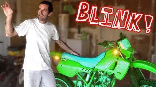 $200 Kawasaki Dirt Bike - Who Cares About Turn Signals