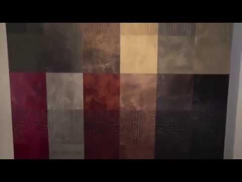 Кожаная плитка для стен и пола – монтаж и уход