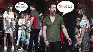 Tiger Shroff FIGHTS With Gf Disha Patani On Stage During Baaghi 2 Promotions