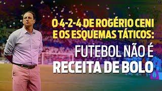 O 4-2-4 de Rogério Ceni e os esquemas táticos: Futebol não é receita de bolo