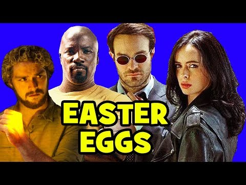 Marvel S Defenders Easter Eggs Daredevil Season 3 Game Of