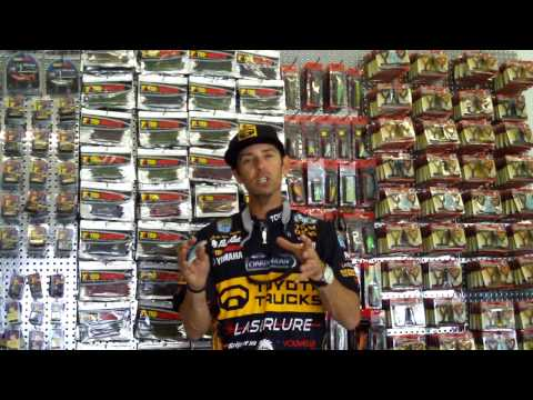 Mike Iaconelli Describes Catching Over 100lbs. in 4 Days at Guntersville on Laserlure