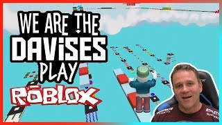 Parkour Obby Frustration | Roblox Mega Fun Obby EP-37 | We Are The Davises Gaming