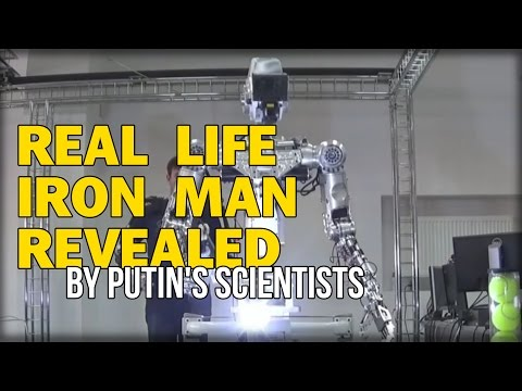 REAL LIFE IRON MAN REVEALED BY PUTIN'S SCIENTISTS NICKNAMED 'IVAN THE TERMINATOR'
