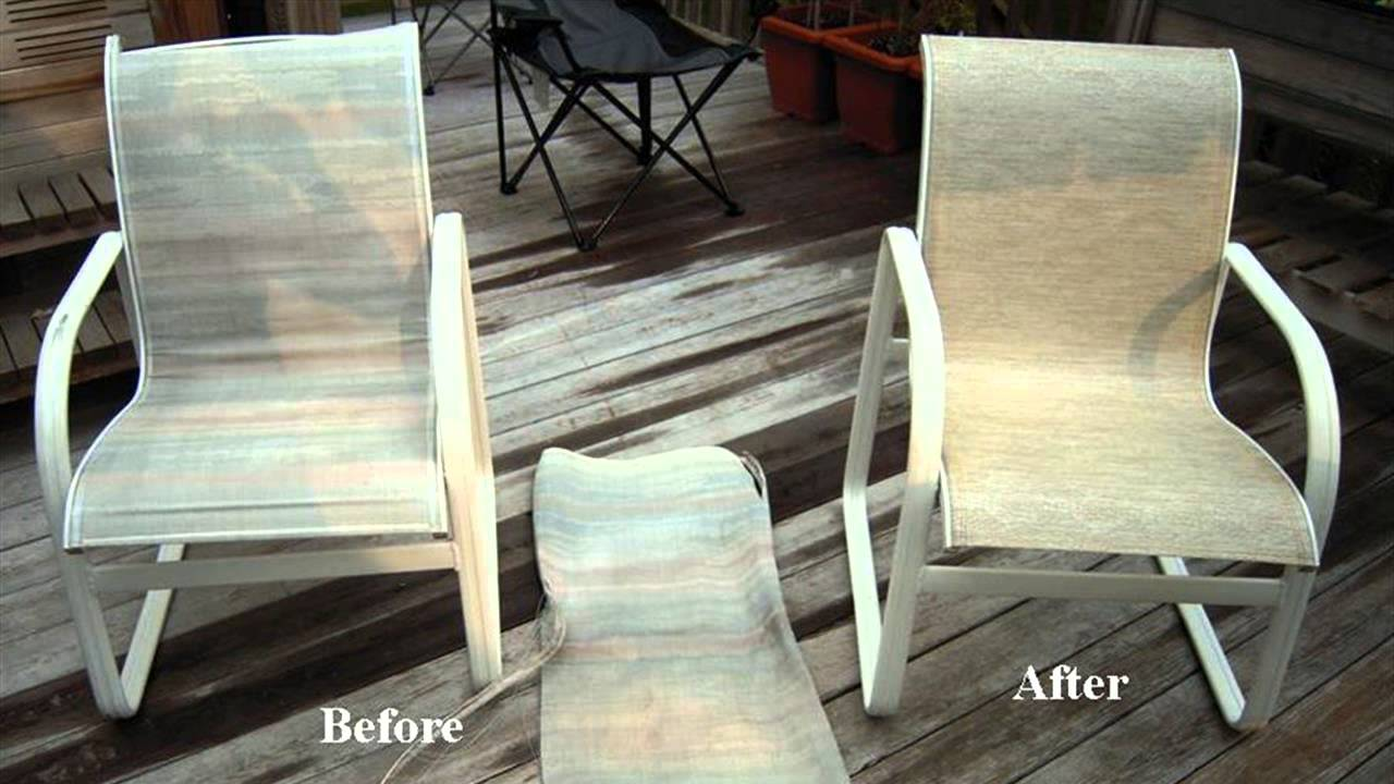 How to make sling seats for a pvc chair youtube for Pvc pipe lounge chair