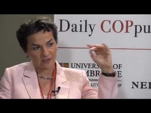 """We need a revolution"" Christiana Figueres, (Part 1) The COPpuccino at COP17"