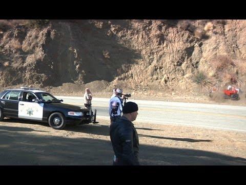 ДТП Ducati перед полицией