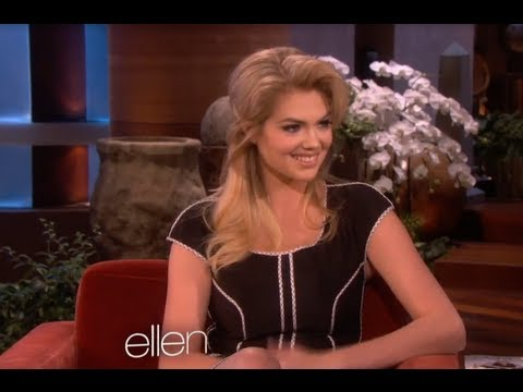 Kate Upton Reveals Favorite Body Part on Ellen!