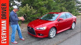 Review: 2015 Mitsubishi Lancer GT on Everyman Driver