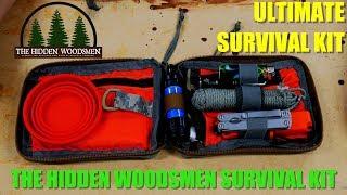 The Ultimate Survival Kit - The Hidden Woodsmen Survival Kit