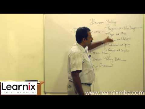 Annamalai University MBA www.learnixmba.com - Principles of Management - Online video class