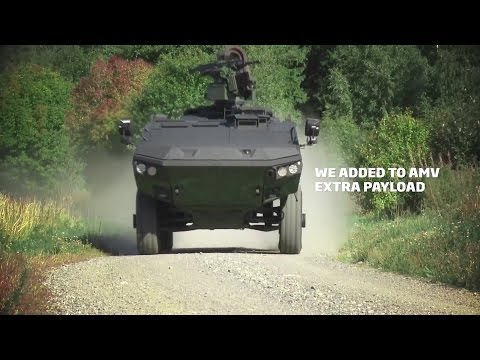 Patria - AMV XP 8X8 Amoured Modular Vehicle [1080p]