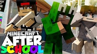 Minecraft After School - LITTLE LIZARD GETS STOOD UP ON HIS DATE WITH SARAH!?