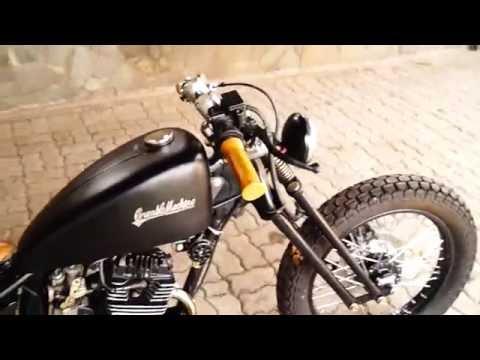 Bobber Custom Honda Mega Pro by Crumble Machine Motorcycles Garage