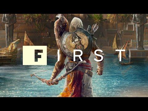 The Origin of Assassin's Creed Origins' Bayek and Senu - IGN First