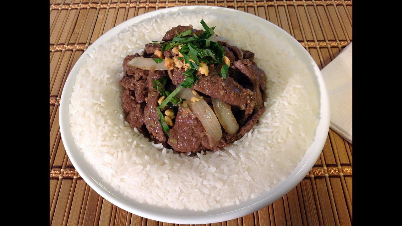 How To Cook Lemongrass Venison Deer Meat-Vietnamese Food ...
