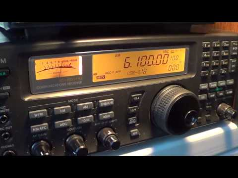 Radio Serbia interval signal into english 6100 khz