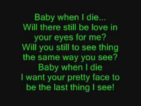 Lil Cuete - When I Die - Lyrics