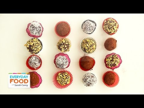 Easy Chocolate Truffles for Valentine's Day - Everyday Food with Sarah Carey