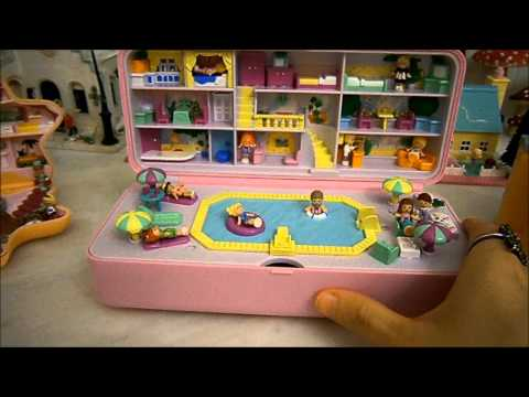 Vintage Polly Pocket collection: Hotels!
