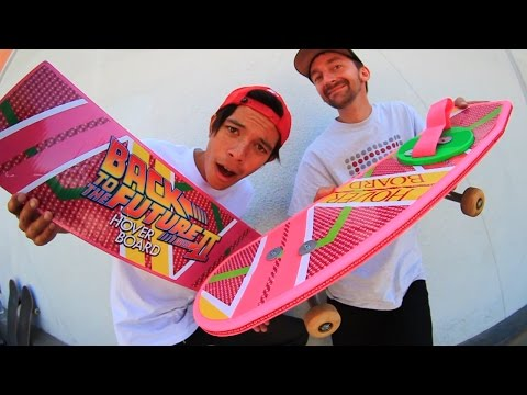BACK TO THE FUTURE HOVER BOARD | SKATE EVERYTHING EP 22