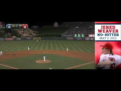 Every Out From Jered Weaver's No Hitter