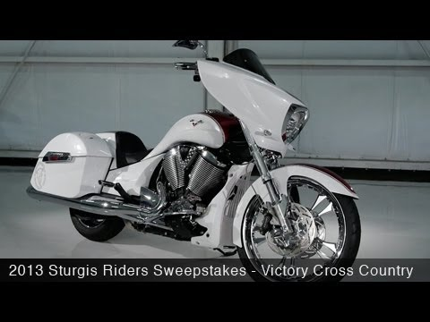 MotoUSA 2013 Sturgis Riders Sweepstakes - Victory Cross Country