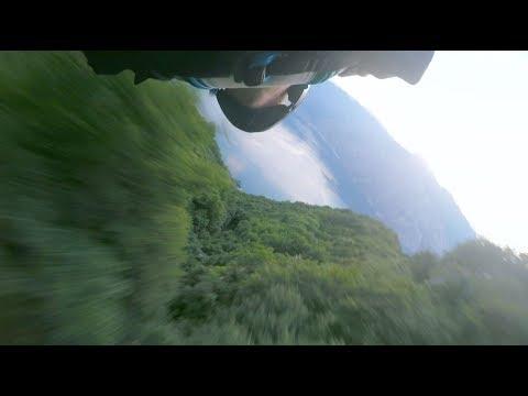 Altissimo, Riva Del Garda -- Wingsuit Proximity Flying -- Brendan Weinstein