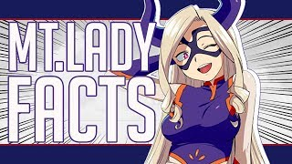 How Tall is MT Lady? 5 Facts About Mt Lady - My Hero Academia
