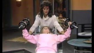 Rachel McLish - Workout on TV Show