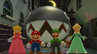 Mario Party The Top 100 MiniGames - Peach Vs Mario Vs Luigi Vs Rosalina (Master Difficulty)