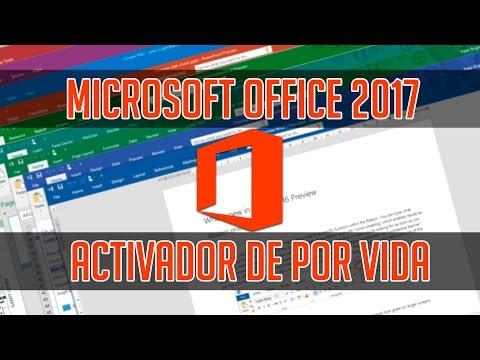 DESCARGAR OFFICE 2017 (365)   32 Y 64 BITS   + ACTIVADOR 2017   DE POR VIDA ! EXPLICACIÓN COMPLETA