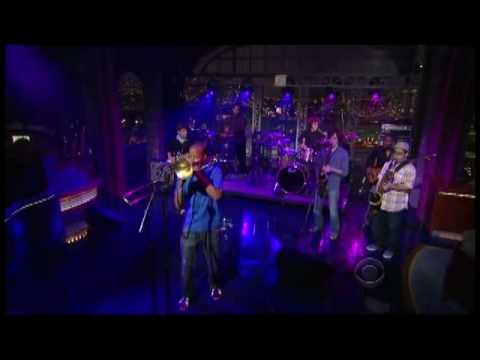 "Trombone Shorty & Orleans Avenue - ""One Night Only"" 6/22 Letterman (TheAudioPerv.com)"