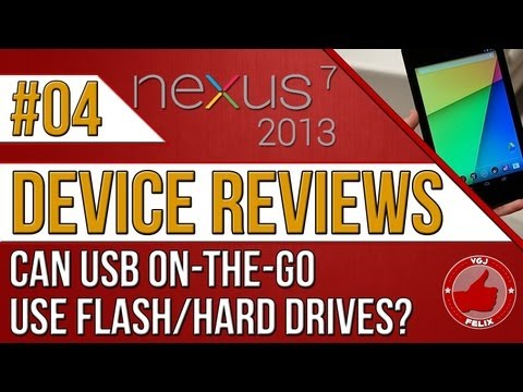 Nexus 7 2013 Review - Does External Storage Work?