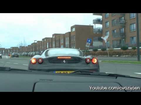 Maserati GranTurismo vs. Ferrari F430 fast acceleration!!