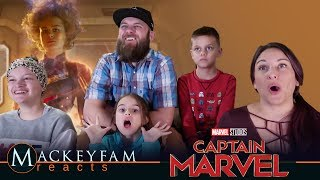 Marvel Studios' Captain Marvel - Trailer 2- REACTION and REVIEW!!!