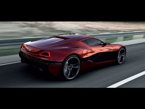 Rimac - Electric Concept One Super Car 1088hp