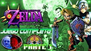 The Legend of Zelda Majora's Mask Completo 100% Gameplay N64 Parte 1