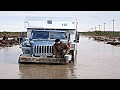 RUSSIAN ROADS DANGEROUS ROAD NORTH RIVER EXTREME MOVE Truckers On The Road mp3