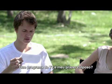 [LEGENDADO] Ansel e Shailene mostram o quanto conhecem um do outro para a Entertainment Weekly (HD)
