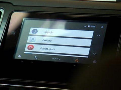 Android Auto in-car walk-through at Google I/O 2014