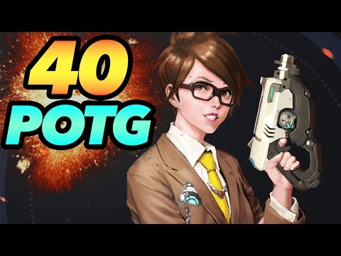 40 INSANE PLAYS OF THE GAME - Overwatch Montage