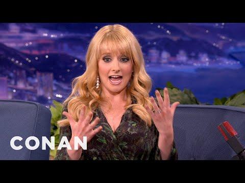 Melissa Rauch Is Terrified Of Short Guys & Teen Girls - CONAN on TBS
