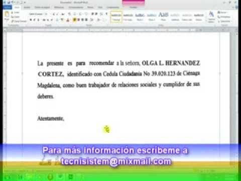 LECCIÓN 27: MODIFICAR DOCUMENTOS ESCANEADOS CON WORD Y PAINT