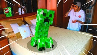 💣UN CREEPER EN MI CASA!! ¿IMPOSIBLE? | MINECRAFT PARTE 1