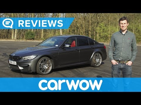 BMW M3 Competition Package 2017 review   Mat Watson Reviews